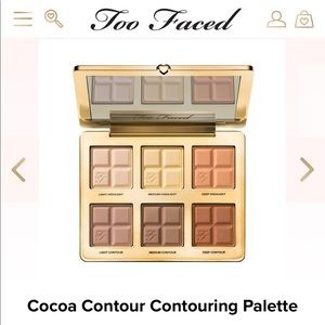 [Too Faced] NWT Cocoa Contour Palette